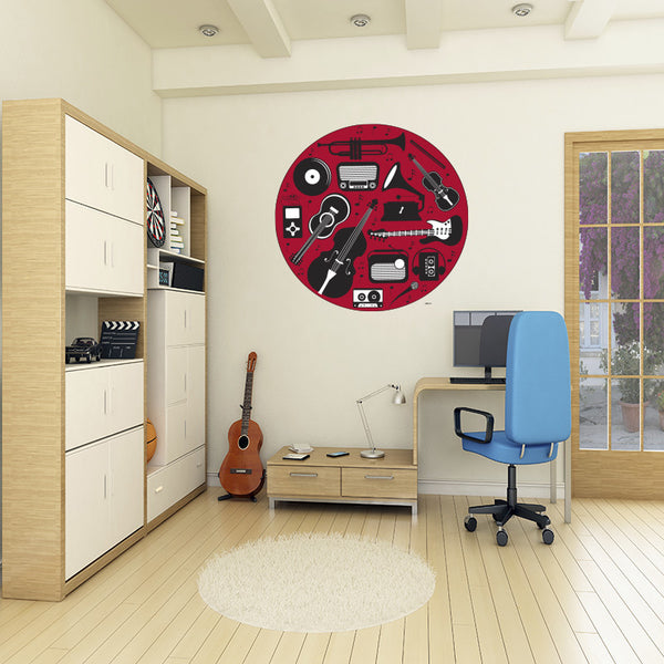 Music A1 - Wall Decal