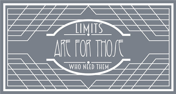 No Limits (Poster) - Wall Words Decal