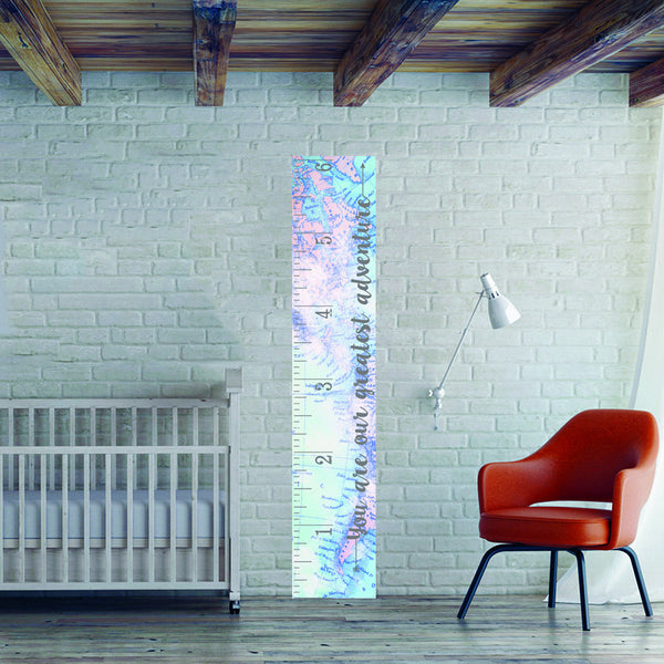 World Map Growth Chart - Wall Decal