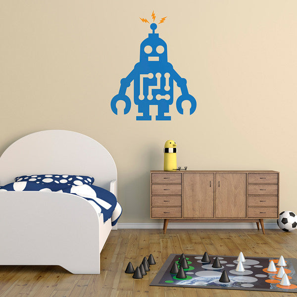 Roboto - Wall Decal