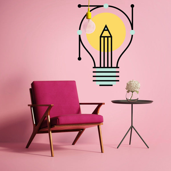 Lightbulb - Wall Decal