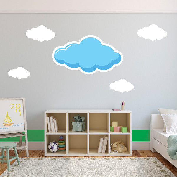 Clouds Set (Large) - Wall Decal
