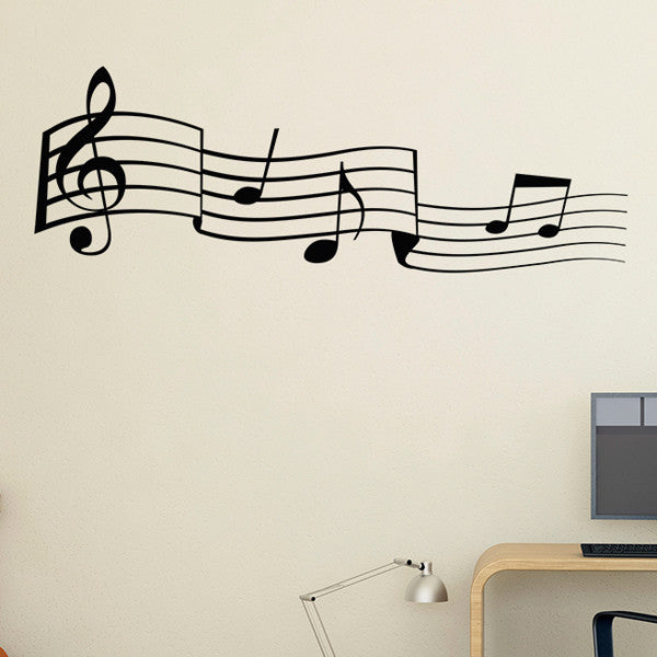 Music Notes - Wall Decal