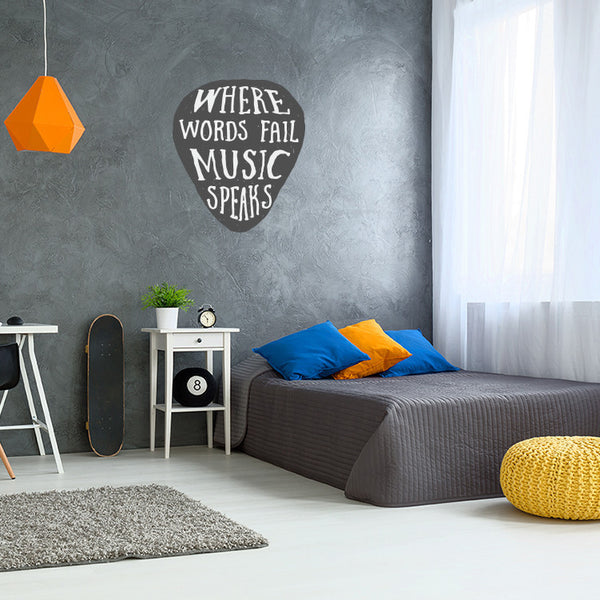 Music Speaks - Wall Decal
