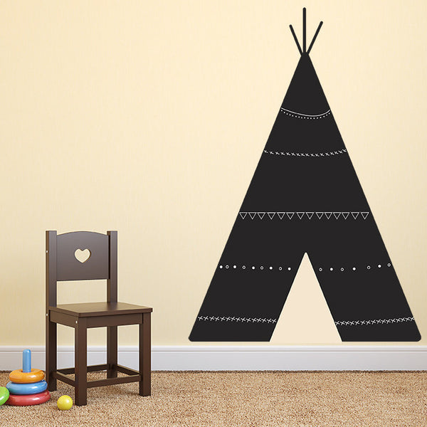 TeePee Chalkboard - Wall Decal