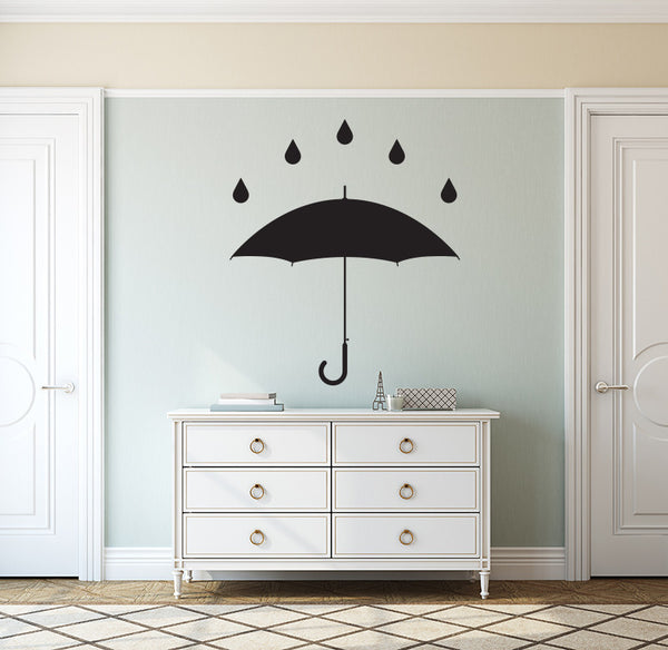 Umbrella - Wall Decal