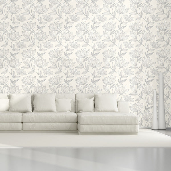 Wild Flower - Removable Wallpaper