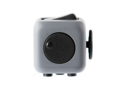 Grey and Black Fidget Cube Spin; Buy the best quality fidget cubes available in India; Best price guaranteed