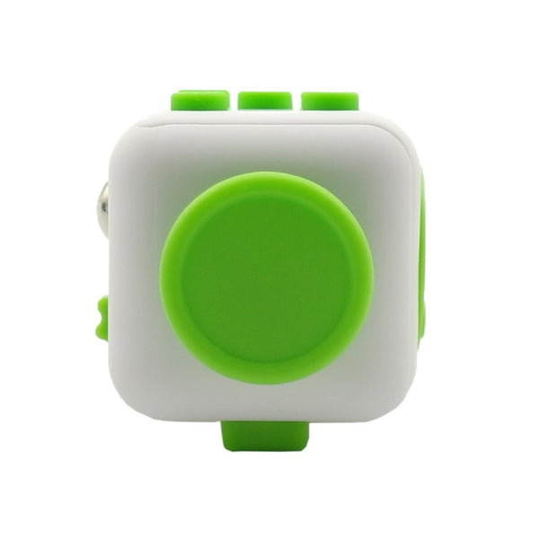 White and Green Fidget Cube Glide Joystick; Buy the best quality fidget cubes available in India; Best price guaranteed