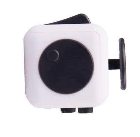 White and Black Fidget Cube Spin; Buy the best quality fidget cubes available in India; Best price guaranteed