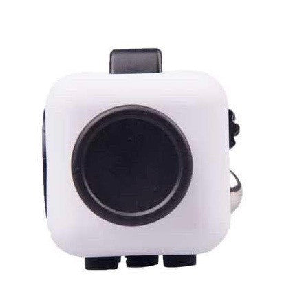 White and Black Fidget Cube Glide Joystick; Buy the best quality fidget cubes available in India; Best price guaranteed