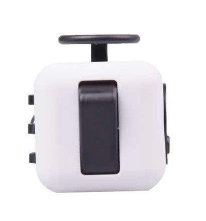 White and Black Fidget Cube Flip Button; Buy the best quality fidget cubes available in India; Best price guaranteed