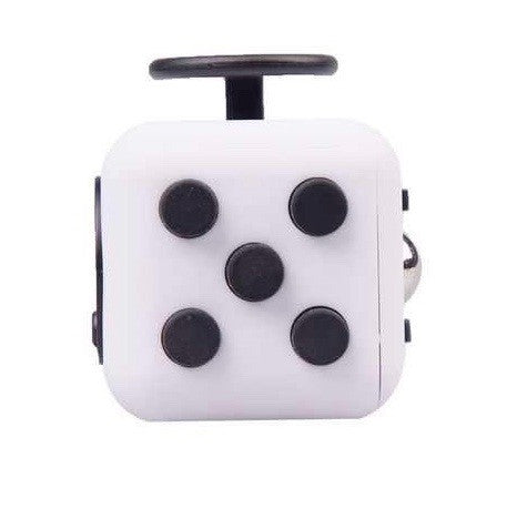 White and Black Fidget Cube Tap Buttons; Buy the best quality fidget cubes available in India; Best price guaranteed