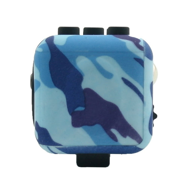 Blue Camouflage Fidget Cube Breathe; Buy the best quality fidget cubes available in India; Best price guaranteed