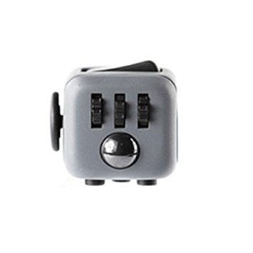 Grey and Black Fidget Cube; Buy the best quality fidget cubes available in India; Best price guaranteed