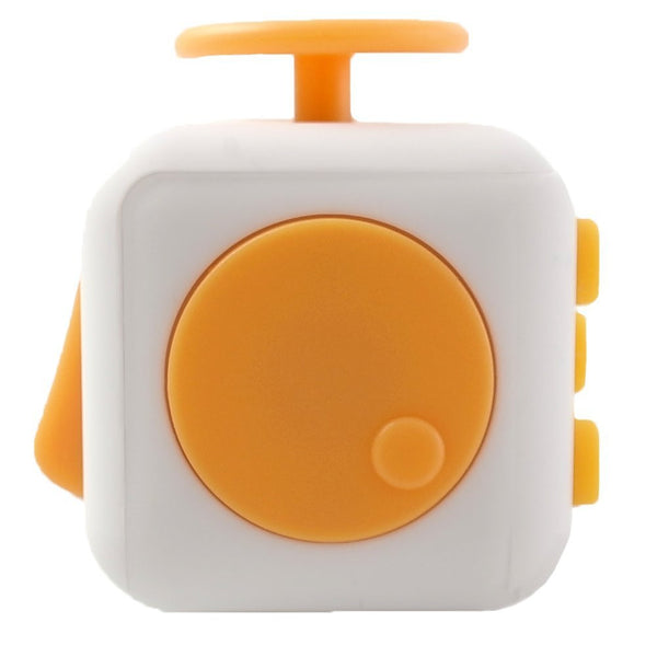 White and Yellow Fidget Cube Spin; Buy the best quality fidget cubes available in India; Best price guaranteed