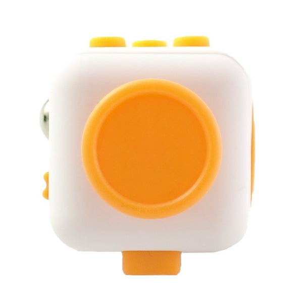 White and Yellow Fidget Cube Glide Joystick; Buy the best quality fidget cubes available in India; Best price guaranteed