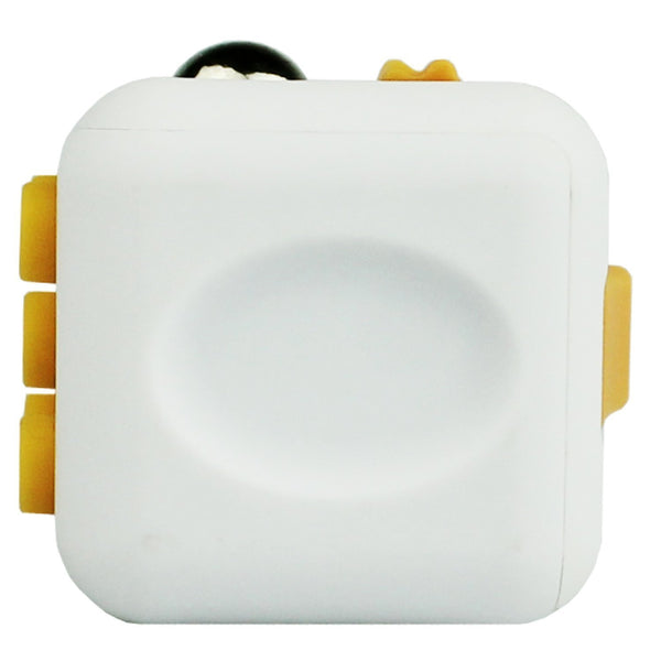 White and Yellow Fidget Cube Breathe; Buy the best quality fidget cubes available in India; Best price guaranteed