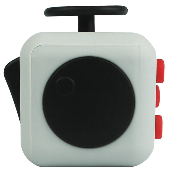Grey and Red Fidget Cube Spin; Buy the best quality fidget cubes available in India; Best price guaranteed