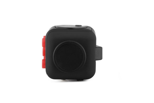 Black and Red Fidget Cube Glide Joystick; Buy the best quality fidget cubes available in India; Best price guaranteed