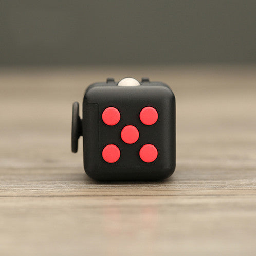 Black and Red Fidget Cube; Buy the best quality fidget cubes available in India; Best price guaranteed