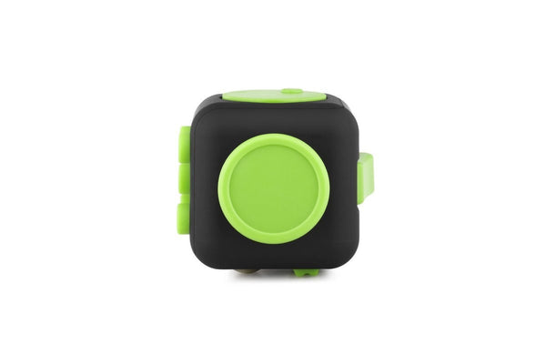 Black and Green Fidget Cube Glide Joystick; Buy the best quality fidget cubes available in India; Best price guaranteed