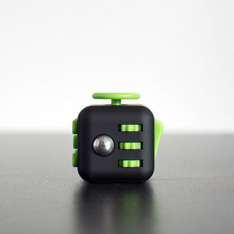 Black and Green Fidget Cube; Buy the best quality fidget cubes available in India; Best price guaranteed
