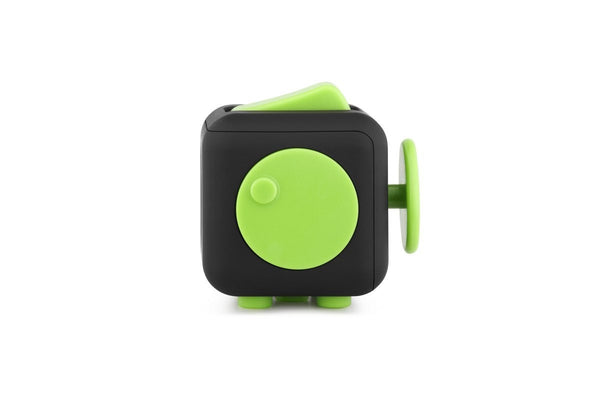 Black and Green Fidget Cube Spin; Buy the best quality fidget cubes available in India; Best price guaranteed