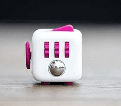 White and Pink Fidget Cube; Buy the best quality fidget cubes available in India; Best price guaranteed