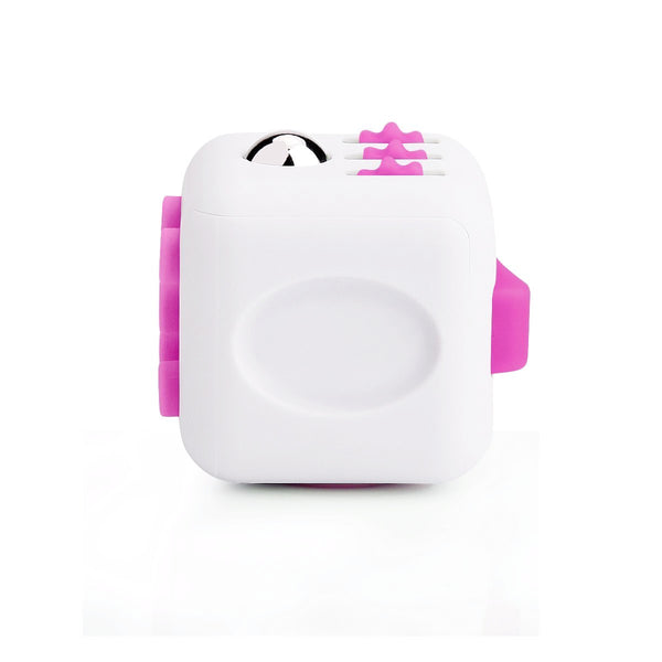White and Pink Fidget Cube Breathe; Buy the best quality fidget cubes available in India; Best price guaranteed