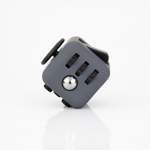 Lead Grey and Black Fidget Cube; Buy the best quality fidget cubes available in India; Best price guaranteed