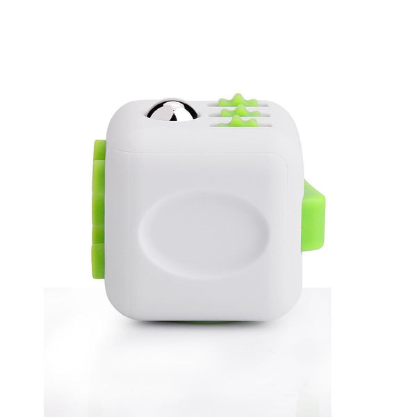 White and Green Fidget Cube Breathe; Buy the best quality fidget cubes available in India; Best price guaranteed