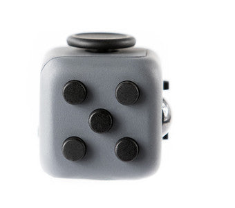 Grey and Black Fidget Cube Tap Buttons; Buy the best quality fidget cubes available in India; Best price guaranteed