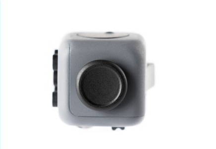 Grey and Black Fidget Cube Glide Joystick; Buy the best quality fidget cubes available in India; Best price guaranteed