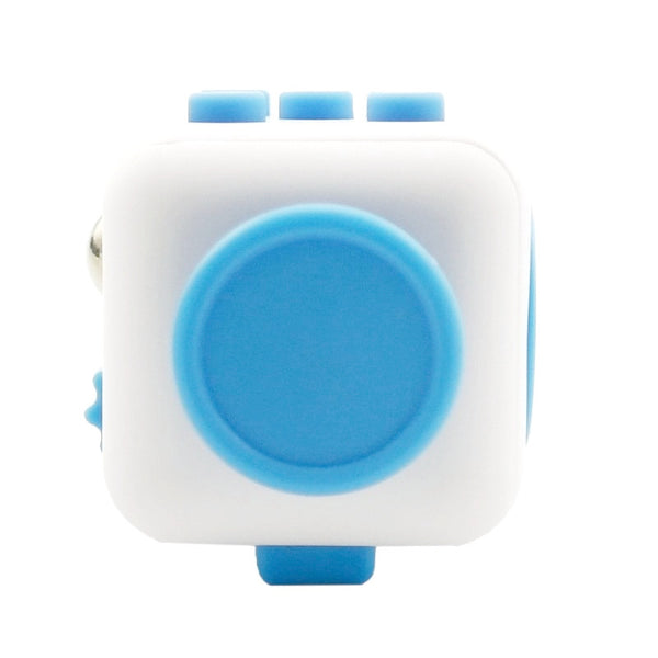 White and Blue Fidget Cube Glide Joystick; Buy the best quality fidget cubes available in India; Best price guaranteed