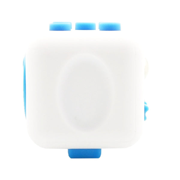White and Blue Fidget Cube Breathe; Buy the best quality fidget cubes available in India; Best price guaranteed