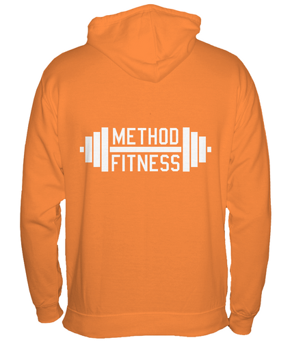 Unisex Zip Hoodie Dumbbell Logo - Method Fitness Apparel