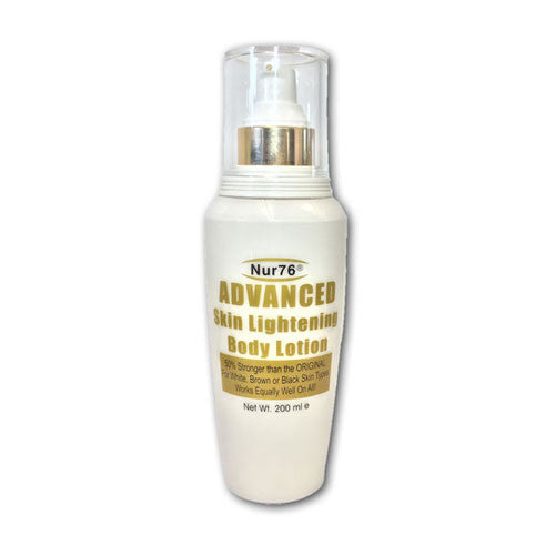 Nur76 Advanced Skin Lightening Body Lotion - 200ml - Nur76
