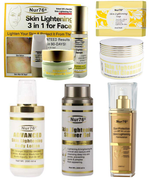 Nur76 Advanced Skin Lightening Full Monty