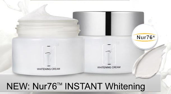 NEW Nur76 Instant Whitening Body Lotion + Titanium Dioxide sunscreen (200g) RRP: £220 - Nur76