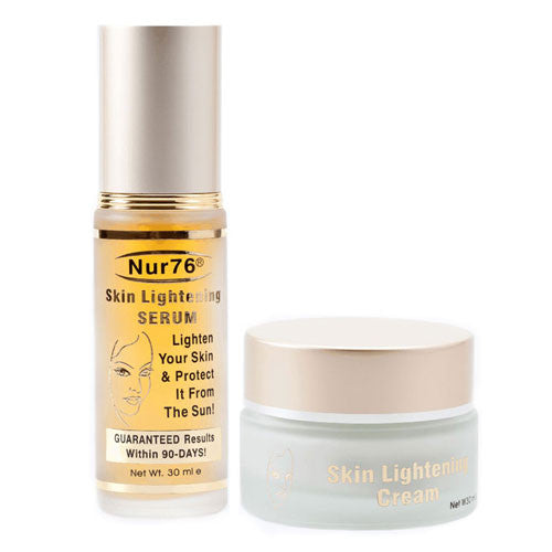 Nur76 Skin Lightening ORIGINAL Serum and Cream - Nur76