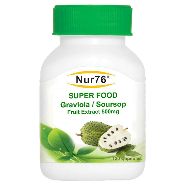 Graviola / Soursop Fruit Extract 500mg; Super Anti-Cancer properties! RRP£42.99 - Nur76