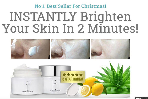 New INSTANT WHITENING CREAM best selling!!! On Special Offer (RRP: £52.00) - Nur76