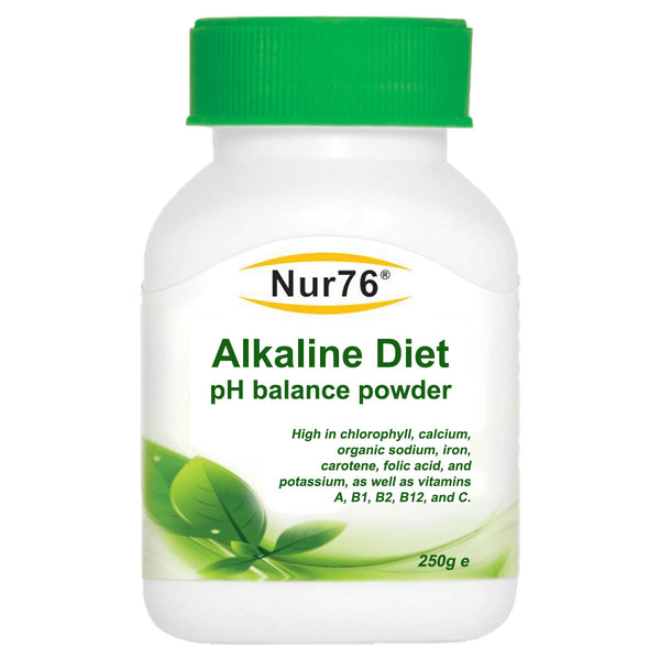 Alkaline Diet pH Balance Powder (100x FREE pH Strips included) RRP: £27 - Nur76