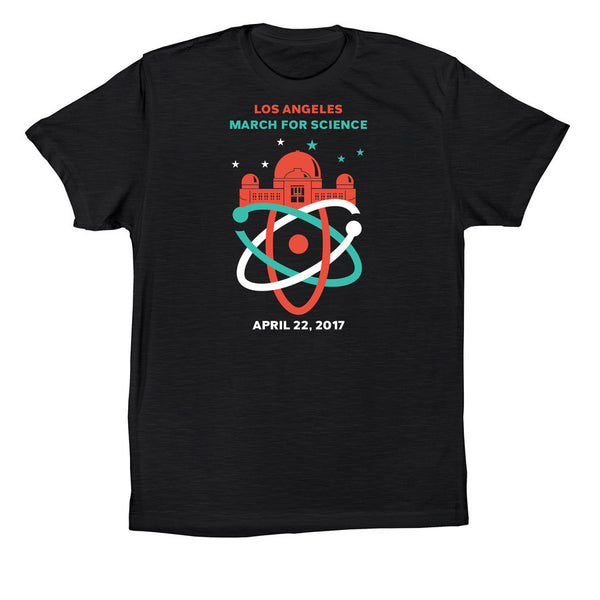 March for Science LA Men's Logo Shirt