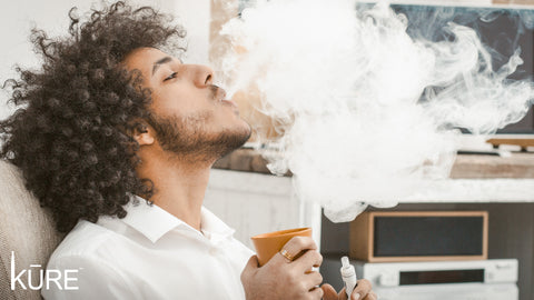A picture containing person, vape cloud