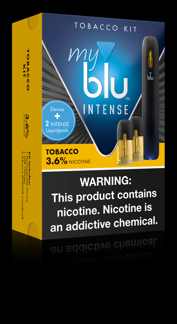 MyBlu Bundle Kit, Tobacco - Kure Vapes