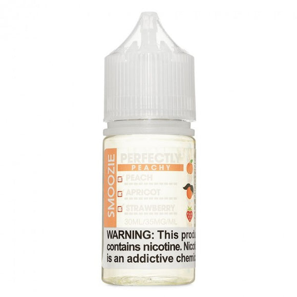 Smoozie Salts, Perfectly Peach - Kure Vapes