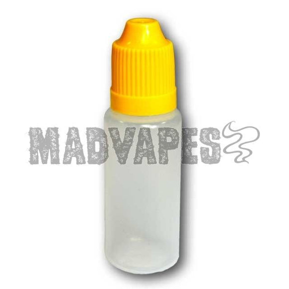 Empty Soft 15mL Bottle with Childproof Cap - Kure Vapes
