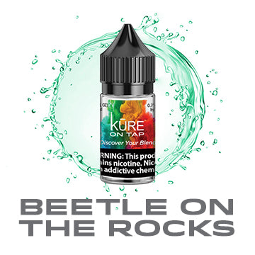 Beetle On The Rocks - Salt On Tap Prime - Kure Vapes